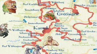 Достопримечательности Германии: Немецкая дорога сказок