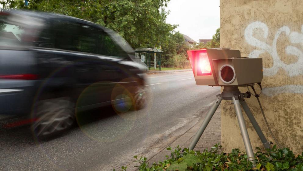 Штраф за превышение скорости на 25 км в час
