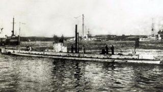 В Бельгии нашли немецкую подводную лодку времен Первой мировой войны
