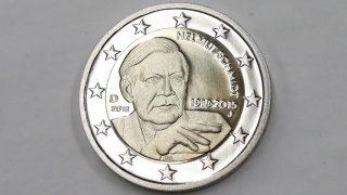 В Германии выпустят монету с изображением Гельмута Шмидта