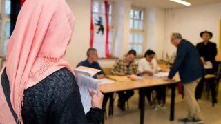 В Берлине провели символические выборы для иностранцев