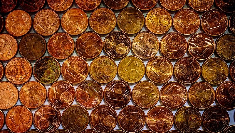 Деньги: Немцы собирают мелочь – 15 млрд. монет на руках