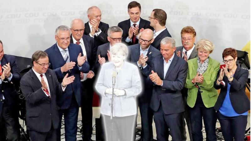 Политика: В рядах ХДС против Меркель зреет заговор? (+опрос)