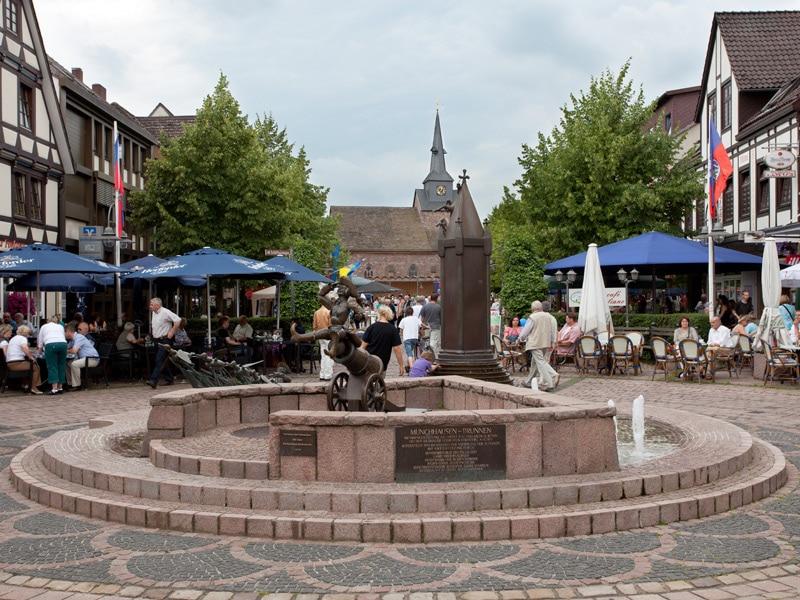 Галерея: Достопримечательности Германии: Боденвердер – город барона Мюнхгаузена рис 2