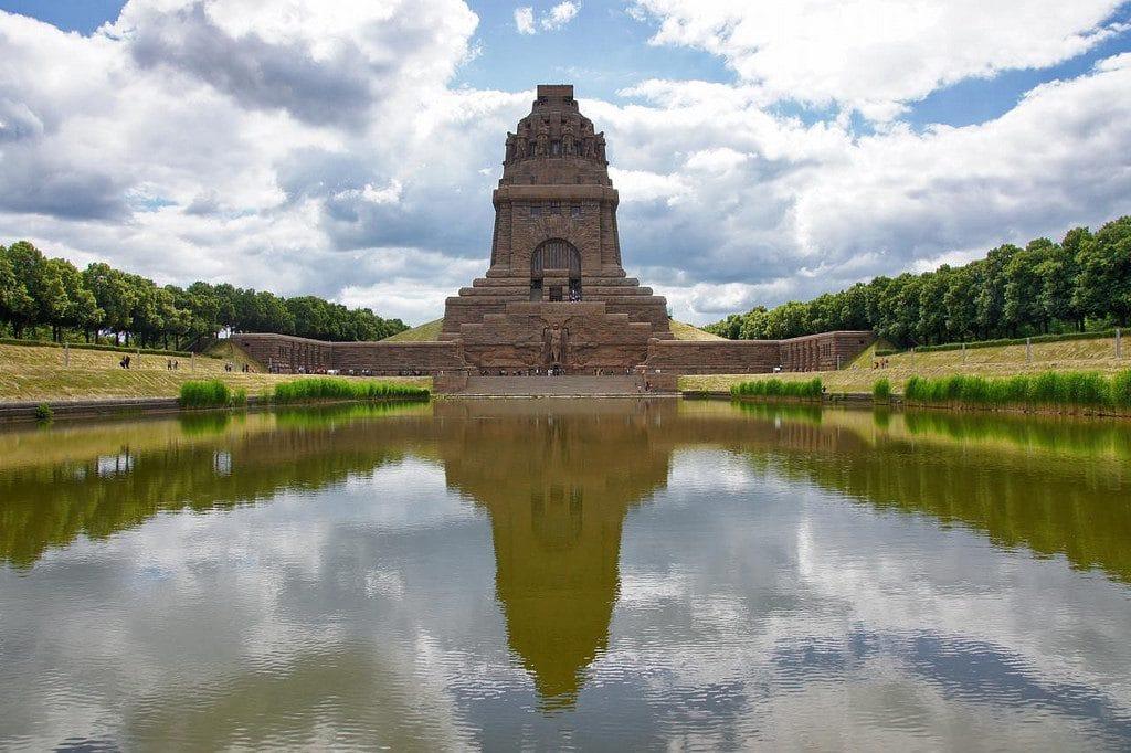 Галерея: Интересные места Германии: Памятник битве народов