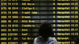 Самые непунктуальные аэропорты Германии