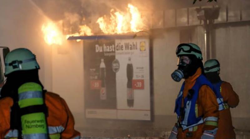 Происшествия: Супермаркет в Нюрнберге выгорел дотла