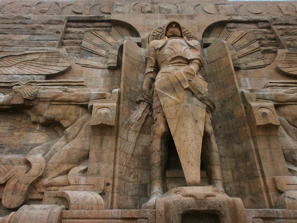 Галерея: Интересные места Германии: Памятник битве народов рис 4