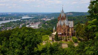 Драхенбург – сказочный замок на горе