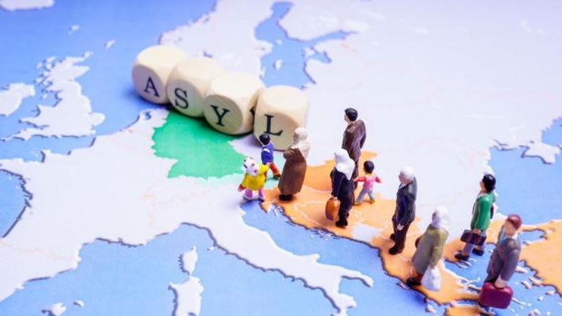 Общество: Сколько беженцев в Германии имеют право на воссоединение с семьей? (инфорграфика)
