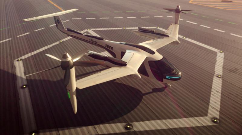 Технологии: В 2020 году Uber запустит воздушное такси