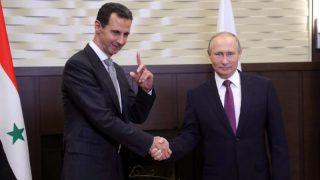 Владимир Путин и Башар аль-Асад встретились в Сочи