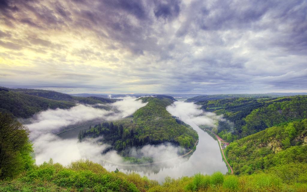 Галерея: Интересные места Германии: Сааршляйфе рис 3