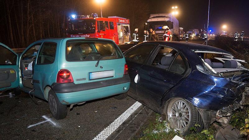 Происшествия: Массовое столкновение на A57 – 14 пострадавших, виновник сбежал