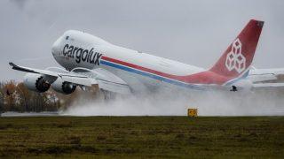 Грузовой самолет сбросил над землей Рейнланд-Пфальц 50 тонн топлива