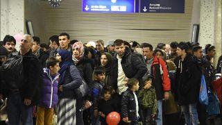 Беженцы прибывают из Греции с поддельными паспортами