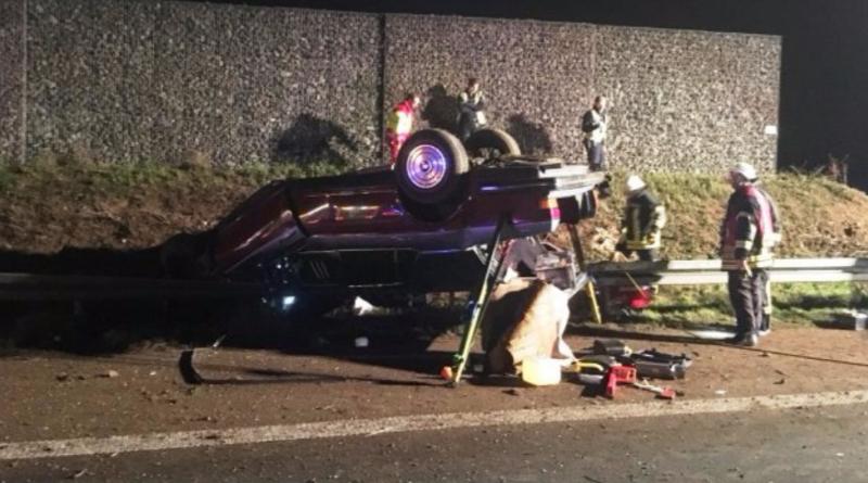 Происшествия: Авария на А44: мужчина погиб, перевернувшись в Rolls Royce