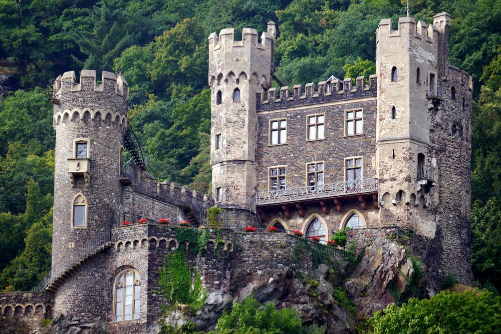 Галерея: Интересные места Германии: замок Рейнштайн рис 3