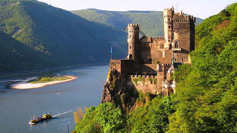 Галерея: Интересные места Германии: замок Рейнштайн