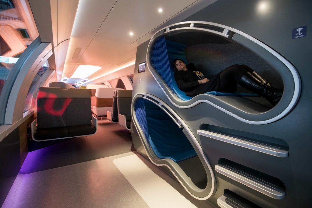 Технологии: Новый немецкий поезд: в будущее с комфортом