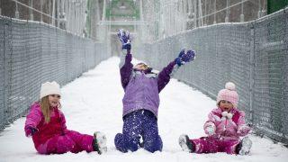 Холодный атмосферный фронт принесет в Германию мороз и метели