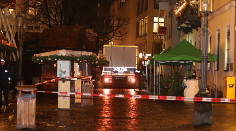 Происшествия: В Бонне эвакуировали рождественскую ярмарку