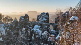 Самые красивые зимние ландшафты Германии