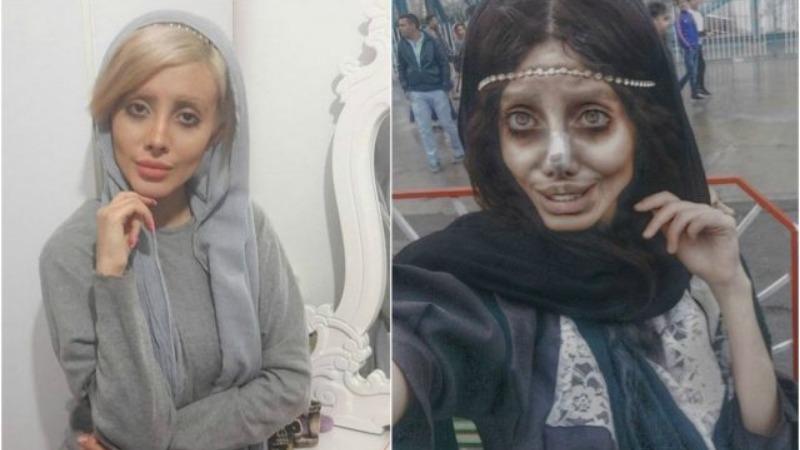 Общество: Девушка уродовала свое лицо ради шутки