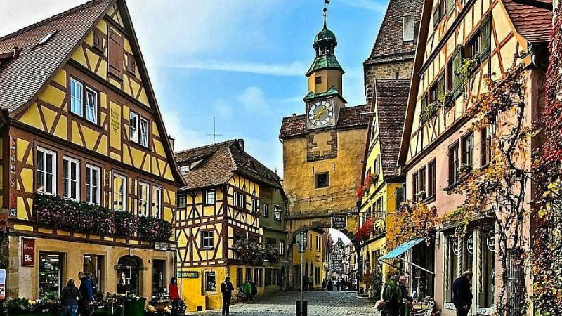 Досуг: Романтические города Германии: Ротенбург-на-Таубере