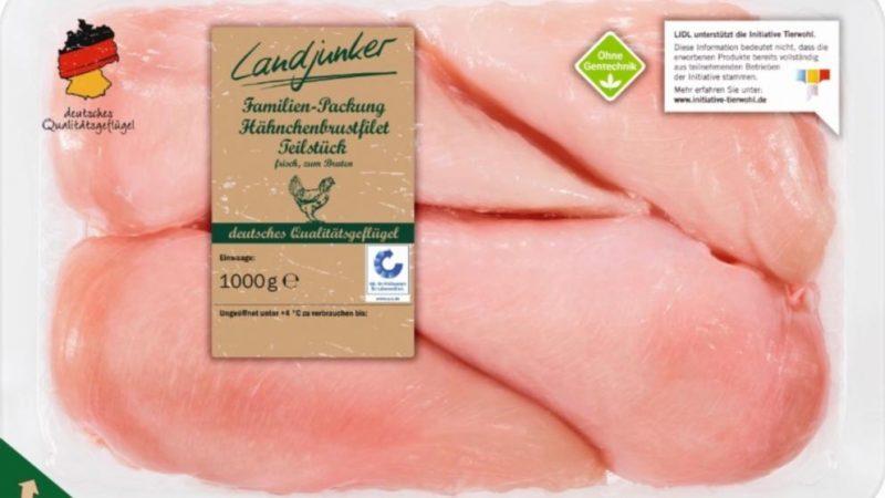 Новости: Lidl отзывает куриное филе из-за опасных частиц в мясе