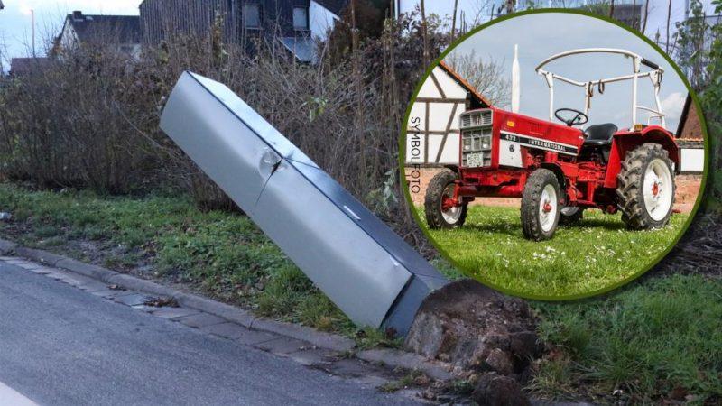 Происшествия: Мужчина на тракторе снес шесть радаров измерения скорости