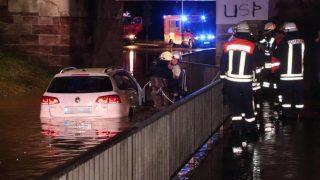 Юго-запад Германии страдает от наводнений