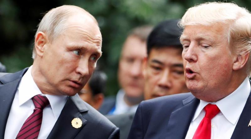 Политика: Немцы доверяют Путину больше, чем Трампу