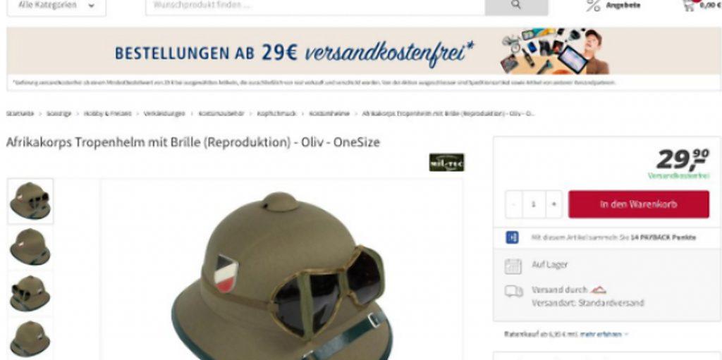 Общество: Немецкие супермаркеты продают нацистские вещи
