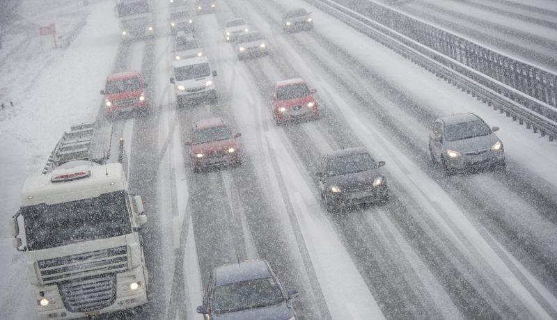 Погода: В выходные в Германии ожидается шторм с дождем и снегом