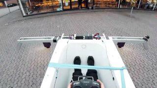 На ванне в пекарню: подростки смастерили летательный аппарат