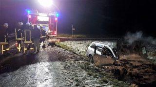 Снежная буря затруднила движение транспорта и стала причиной множества ДТП