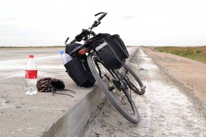 Происшествия: Беженцы устроили на автобане гонки на велосипедах