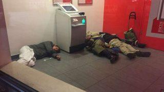 Немецкие банки заменили бездомным приюты