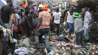 Лавина из мусора накрыла жилые дома
