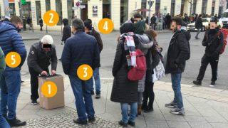 Берлинские наперсточники: советский фольклор обретает популярность в Германии