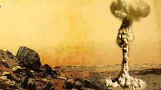 Марсиан уничтожили пришельцы?