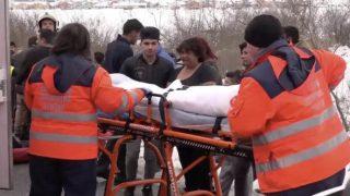 В Словакии машина врезалась в группу детей