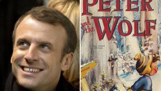 Французский президент дебютирует в советской сказке о юном пионере