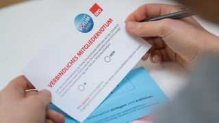 Судьбу нового правительства решит почтовое голосование