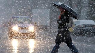 В выходные Германию накроет снег с дождем