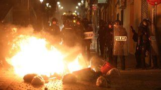 Гибель африканца-нелегала вызвала массовые беспорядки в Мадриде (+видео)