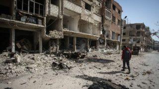 В Сирии разбомбили школу, в которой прятались дети