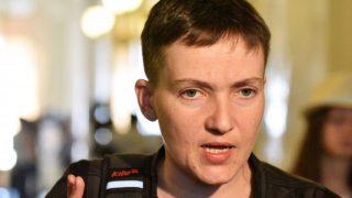 Надежду Савченко задержали по подозрению в подготовке теракта (обновлено, +видео)