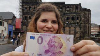 В ЕС появилась новая купюра номиналом в 0 евро